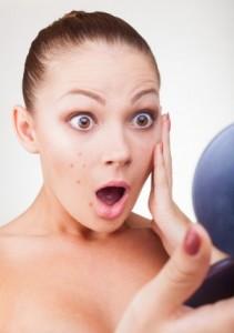 Осложнения демодекоза на коже лица