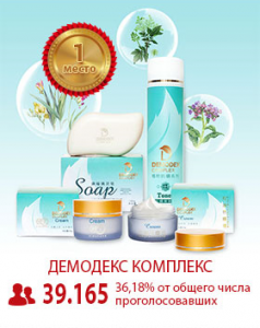 Демодекс Комплекс - топ 1 самых эффективных средство от демодекоза