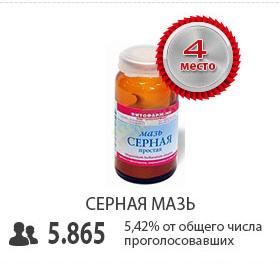 Серная мазь - топ 4 самых эффективных средство от демодекоза